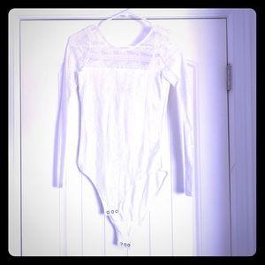 Abercrombie lace onesie